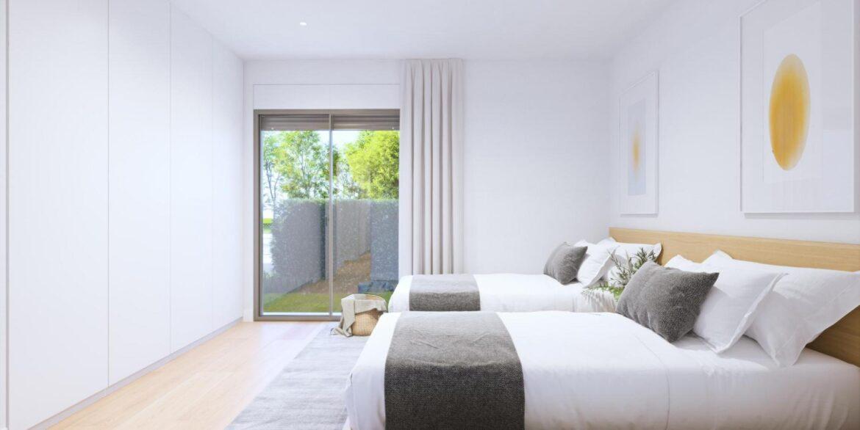 Dorm 2 villa aislada