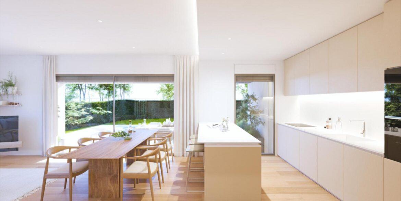 cocina-comedor villa aislada